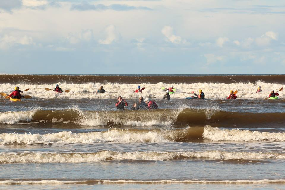 Surf, Donald Trump and a Whole Lotta Kayaks. ULKC Lahinch Trip 2016