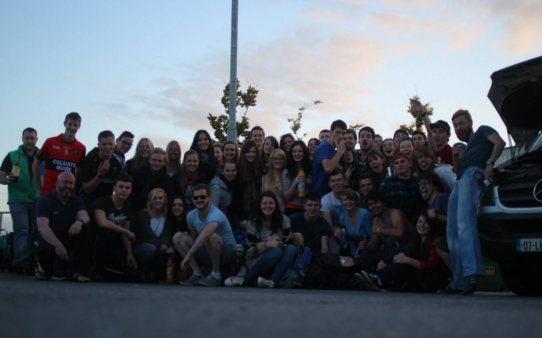 Freshers Trip to Lahinch 2014